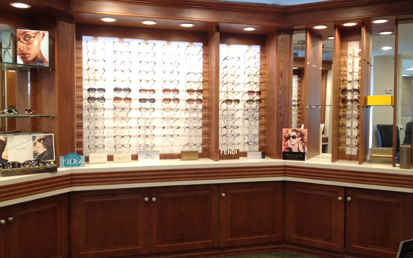 Best in Sight Eye Care offers a wide selection of Designer & Specialty Frames
